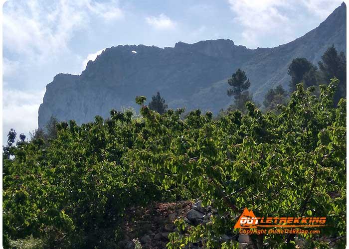 Vall de Gallinera, Penya Foradà