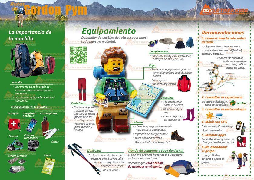 infografia-equipamiento-recomendaciones-senderistas